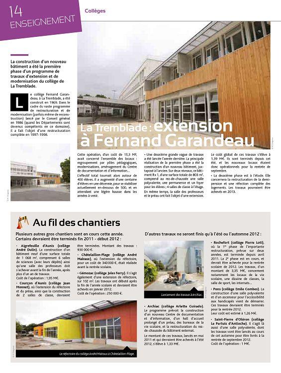 17 la charente maritime n 40 oct nov 2011 page 2 3. Black Bedroom Furniture Sets. Home Design Ideas