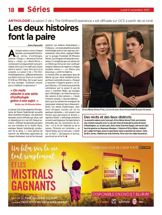 8755e95df45f 20 Minutes France n°3202 6 nov 2017 - Page 4 - 5 - 20 Minutes France ...