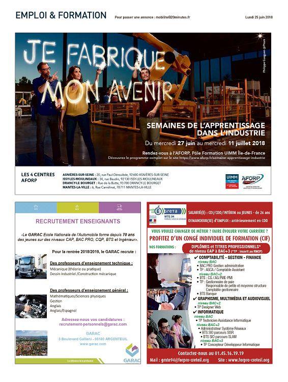9ce832d38f 20 Minutes France n°3307 25 jun 2018 - Page 16 - 17 - 20 Minutes ...