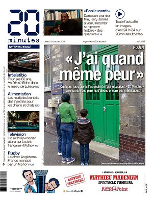 20 Minutes France n°3467 10 oct 2019