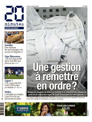 20 Minutes France n°3563 5 oct 2020