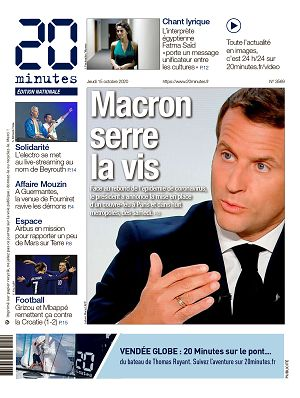 20 Minutes France n°3569 15 oct 2020