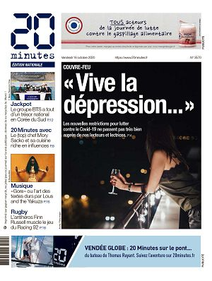 20 Minutes France n°3570 16 oct 2020