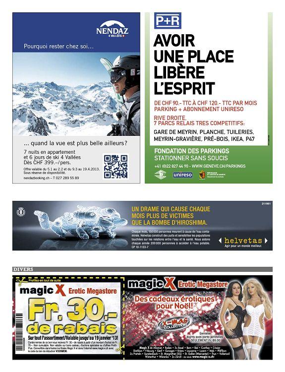 Genève: 456 offres dans Érotique