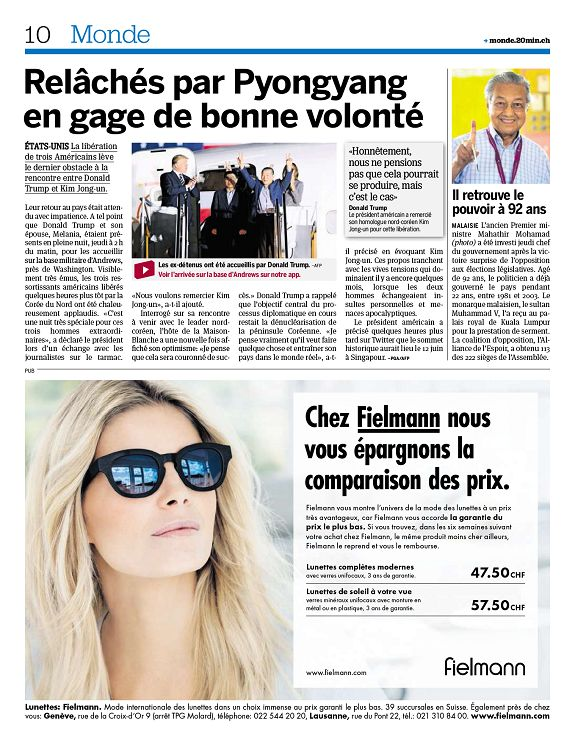 20 minutes Genève n°2018-05-11 vendredi - Page 2 - 3 - 20 minutes ... 628bb7c3e3da