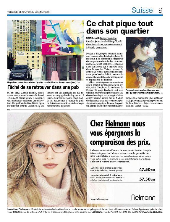 9e354a34694030 20 minutes Genève n°2018-08-31 vendredi - Page 2 - 3 - 20 minutes ...