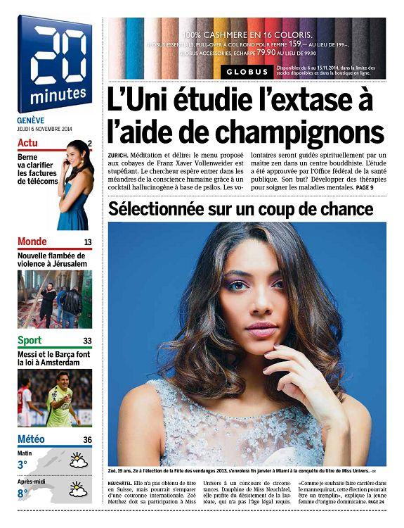 20 minutes Genève n°2014-11-06 mercredi - Page 30 - 31 - 20 minutes ... 5fa72c8858f