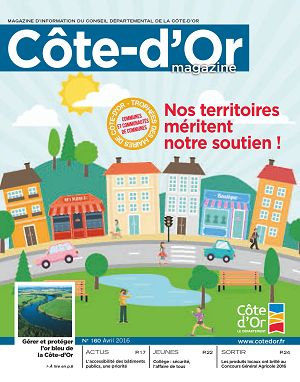 [21] Côte-d'Or magazine n°160 avril 2016