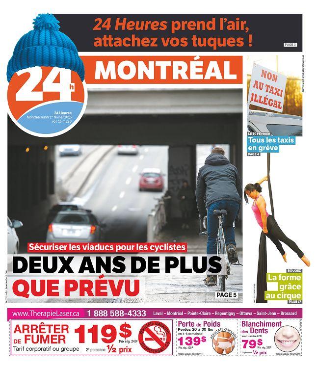 24h Montréal n°15-220 1er fév 2016 - Page 14 - 15 - 24h