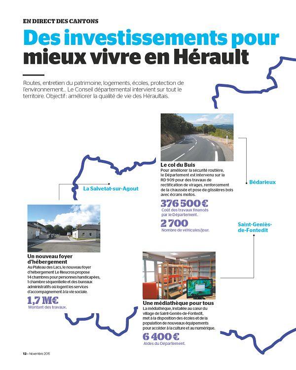 34  L Hérault n°250 novembre 2015 - Page 2 - 3 -  34  L Hérault n ... a9d04f1b0e17