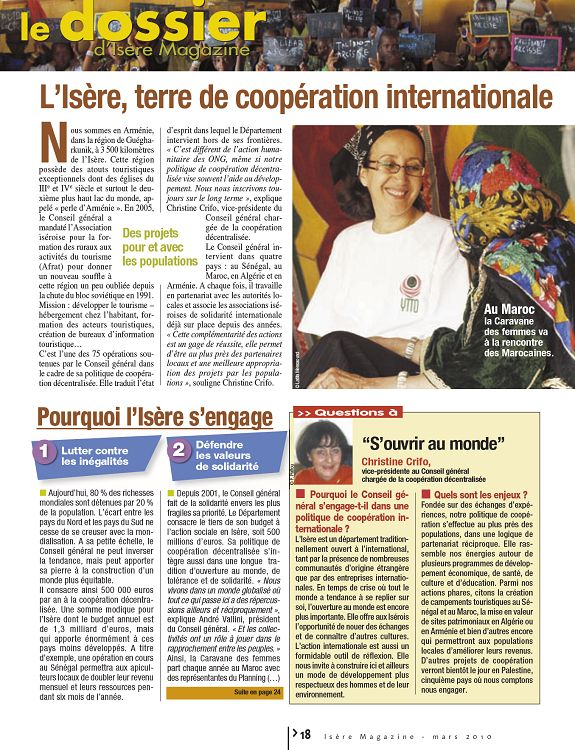 [38] Isère magazine n°108 mars 2010 - 0,00 €