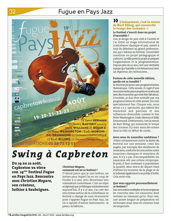 magazine de rencontre swing