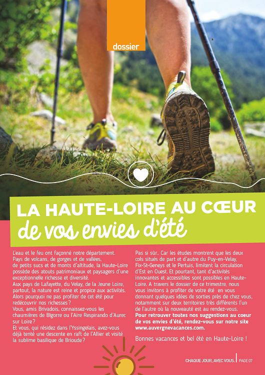43 haute loire magazine n 62 jun jui ao 2015 page 2 for 43 haute loire