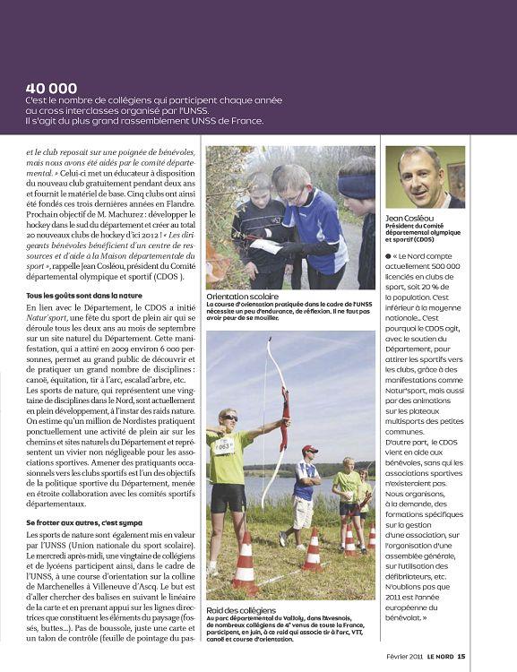 59 nord n 244 f vrier 2011 page 50 51 59 nord n for Region du 59