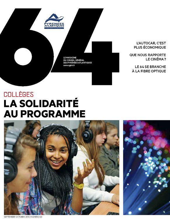 64  Pyrénées Atlantiques le mag n°60 sep oct nov 2013 - Page 30 - 31 ... 8736539ed9c6