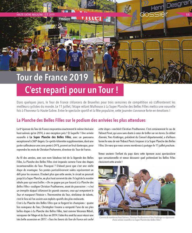 Calendrier Marche Populaire Haute Saone.70 Haute Saone Magazine N Ete Jun Jui Aou 2019 Page 10