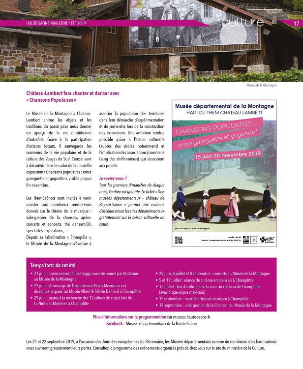 Calendrier Marche Populaire Haute Saone.70 Haute Saone Magazine Regions De France Decouverte Du