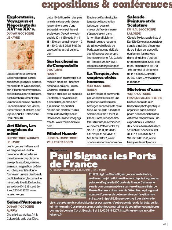 76 Seine Maritime N60 Octobre 2010