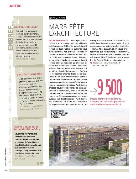 76 Seine Maritime N85 Mars 2013