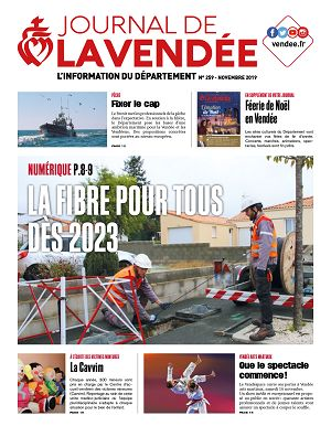 [85] Journal de la Vendée n°259 novembre 2019
