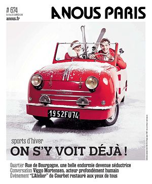 A Nous Paris n°674 19 jan 2015