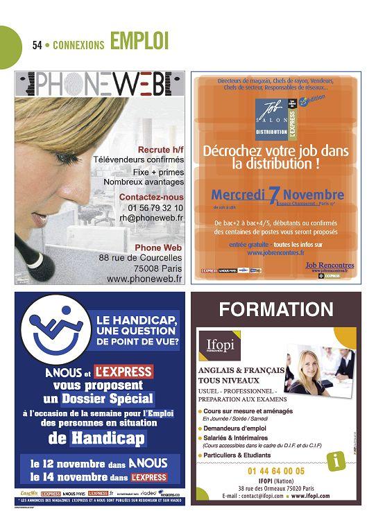 job rencontres paris 2012