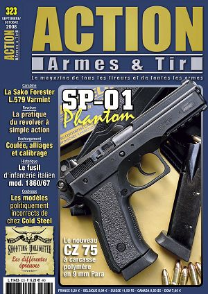 Action Armes & Tir n°323 sep/oct 2008