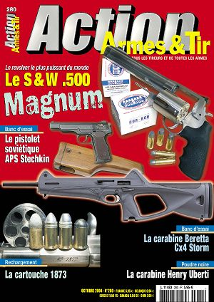 Action Armes & Tir n°280 octobre 2004