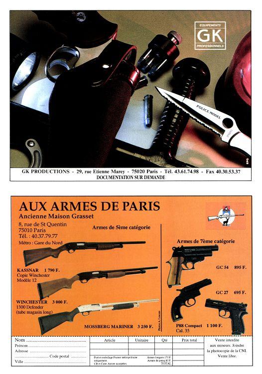 Action Armes & Tir n°161 décembre 1993 - Page 46 - 47