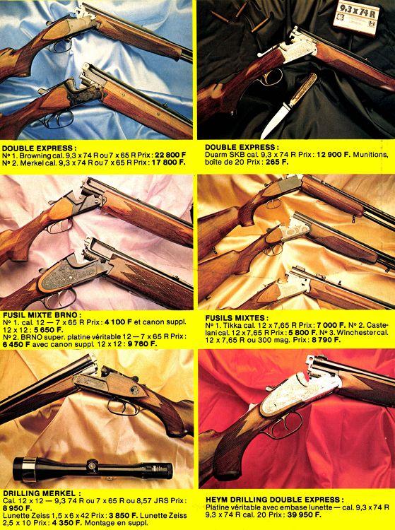 1348beb25077ae Action Armes   Tir n°44 jui aoû 1982 - Page 32 - 33 - Action Armes ...