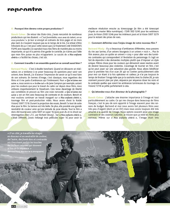 Actions le mag' n°26 printemps 2006 - Page 2 - 3 - Actions