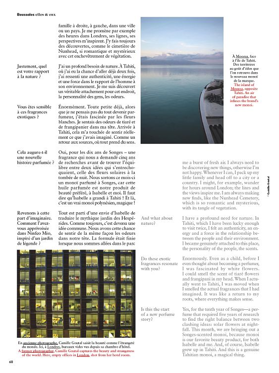 Air France Magazine n°217 mai 2015 Page 62 63 Air