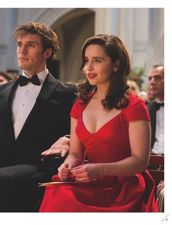 robe de rouge dans avant toi
