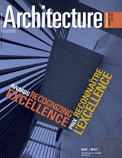 Architecture Canada n°15 2nd semestre 2013