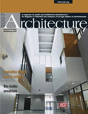 Architecture Canada n°3 2nd semestre 2007