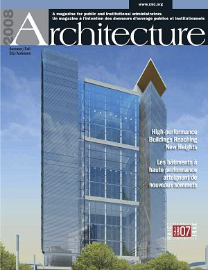Architecture Canada n°5 2nd semestre 2008