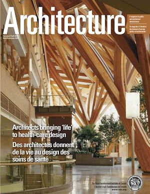Architecture Canada n°7 2nd semestre 2009
