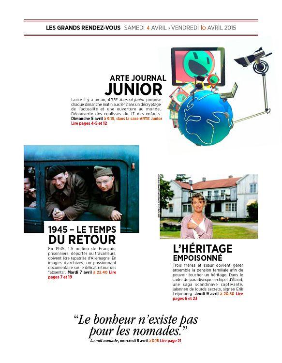 magazine lire avril 2015