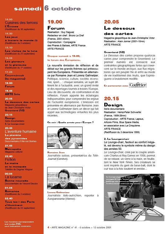 1400 Cuisines Des Terroirs Lcosse Rediffusion Du 30 Septembre 1430 Les Jeux Travers Le Monde 1 3 Octobre 1510 Visites De La