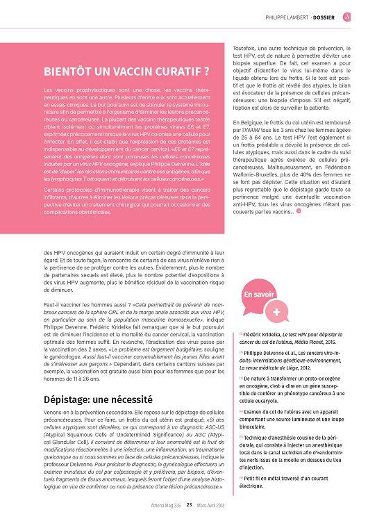 Athena n°336 mar/avr 2018 - Page 22 - 23 - Athena n°336 mar/avr 2018 ...