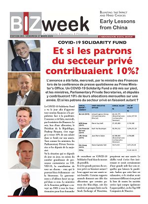 BIZweek n°283 27 mar 2020