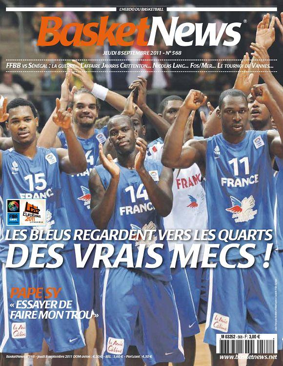 Basket News n°568 8 sep 2011 - Page 4 - 5 - Basket News n°568 8 sep ...