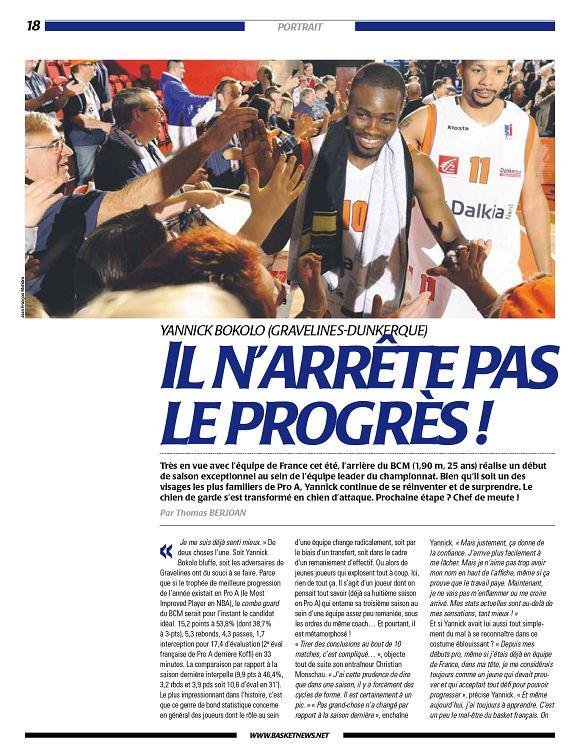 c63170569324 Basket News n°529 9 déc 2010 - Page 2 - 3 - Basket News n°529 9 déc ...
