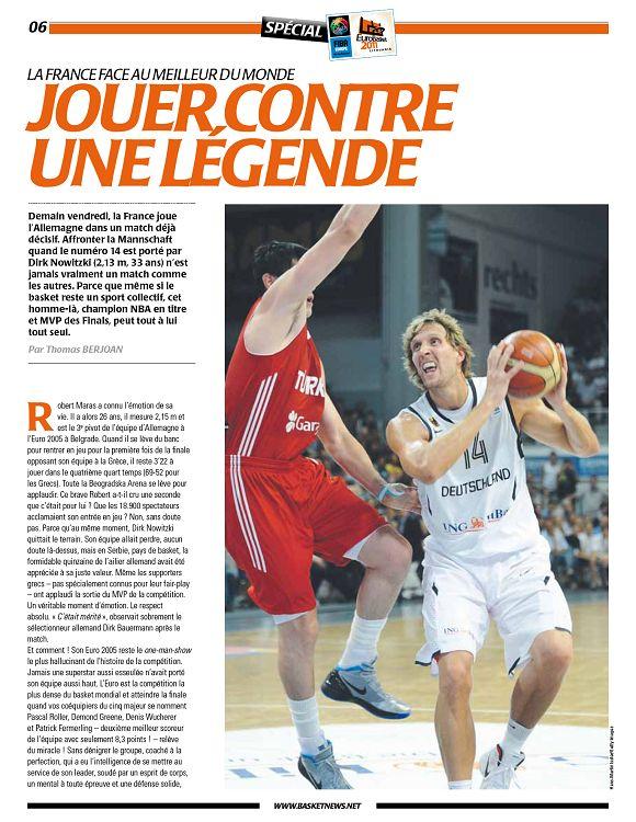 Basket News n°567 1er sep 2011 - Page 2 - 3 - Basket News n°567 1er ...