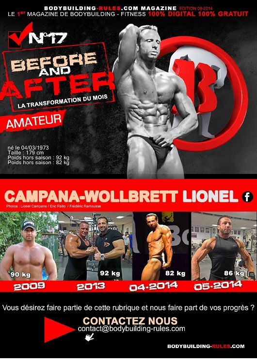 Bodybuilding Rules n°16 septembre 2014 Page 2 3