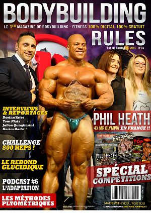 Bodybuilding Rules n°24 mai 2015