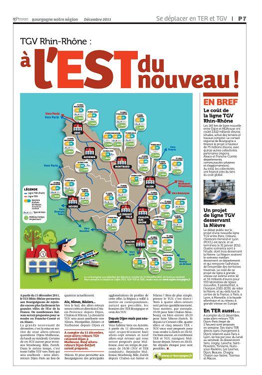 Carte Bourgogne Liberte.Bourgogne Bourgogne Notre Region N 24 Dec 11 Jan 2012 Page 6 7