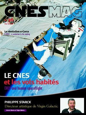 CNES Mag n°36 jan/fév/mar 2008
