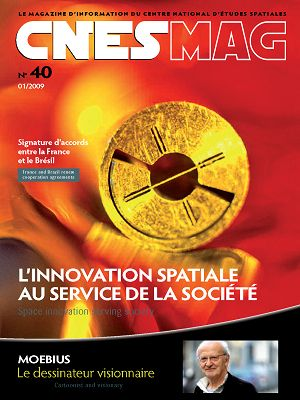CNES Mag n°40 jan/fév/mar 2009