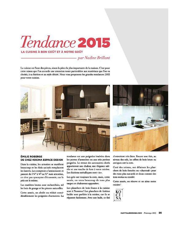 Capitale design n 1 mar avr mai 2015 page 50 51 for Architecture interieur pdf